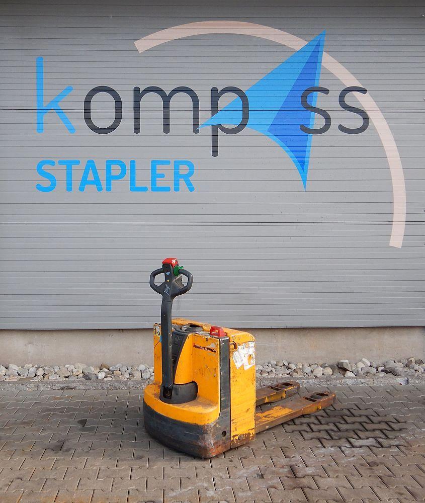 Jungheinrich EJE 116 Electric Pallet Truck www.kompass-stapler.de
