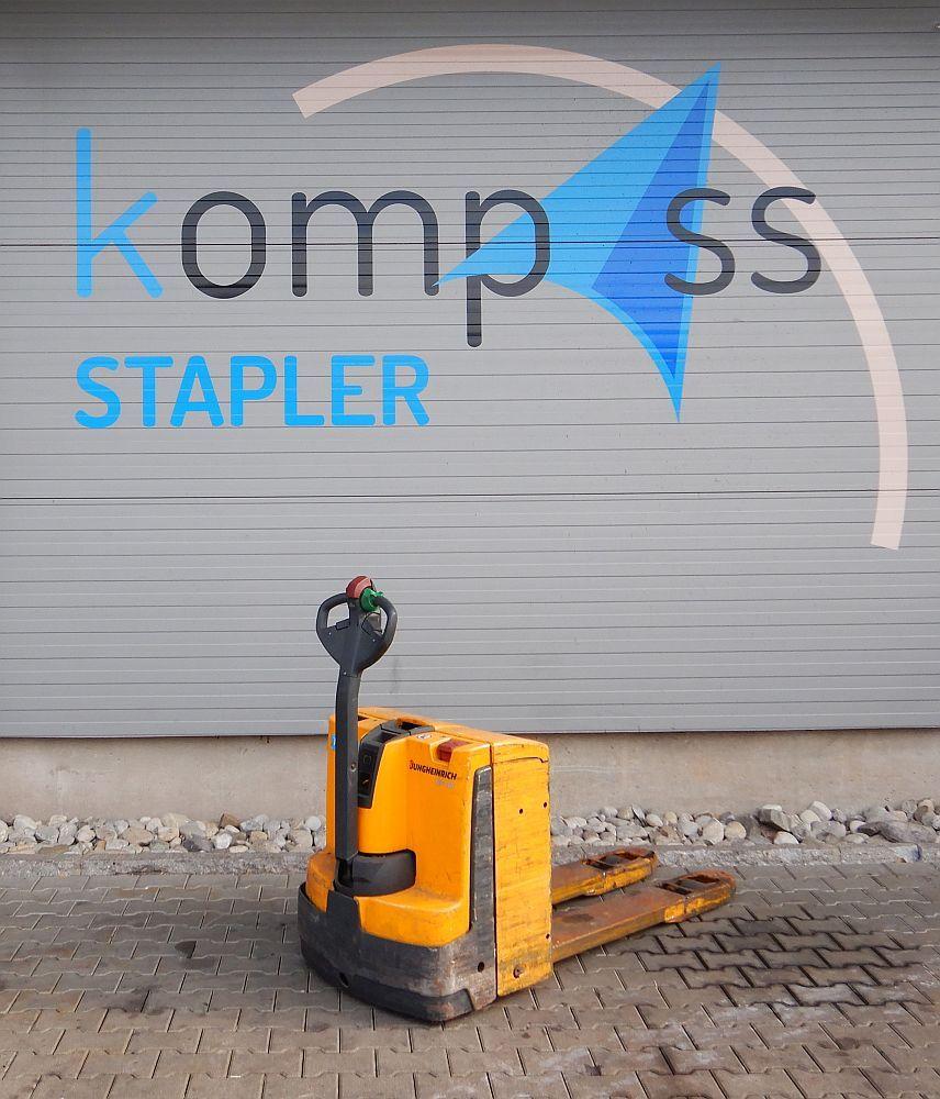 Jungheinrich EJE 118 Electric Pallet Truck www.kompass-stapler.de