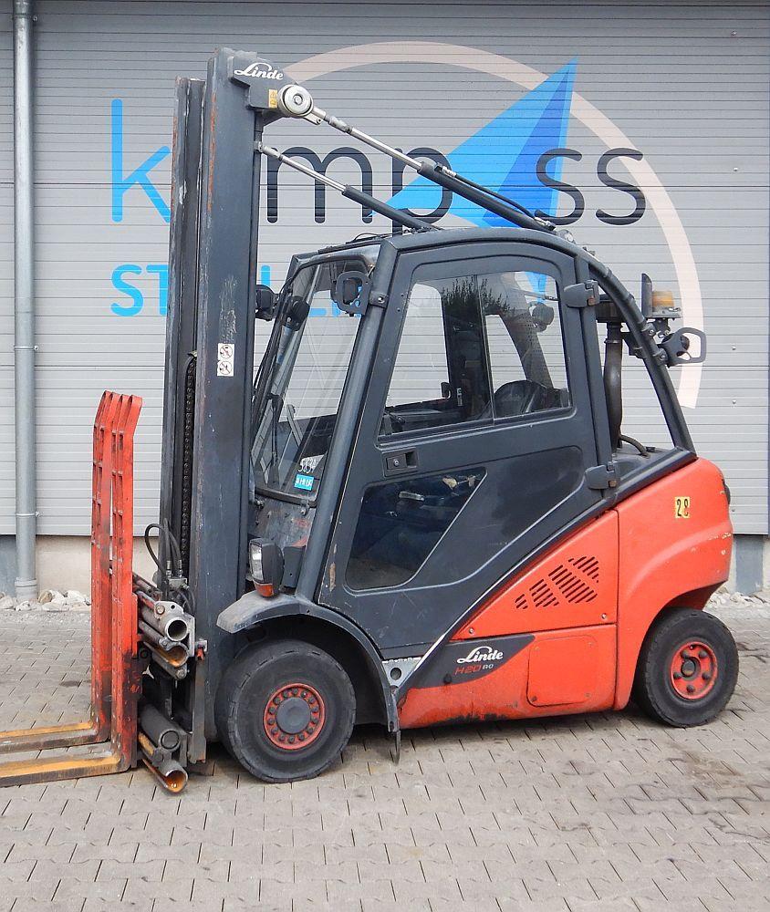 Linde H 20 D/600/392 Diesel Forklift www.kompass-stapler.de