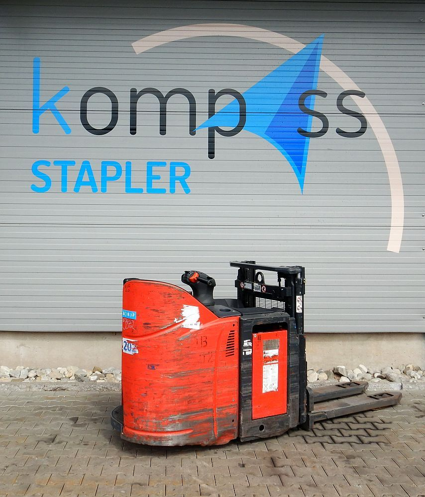 Linde D 12 SP/133 High Lift stacker www.kompass-stapler.de