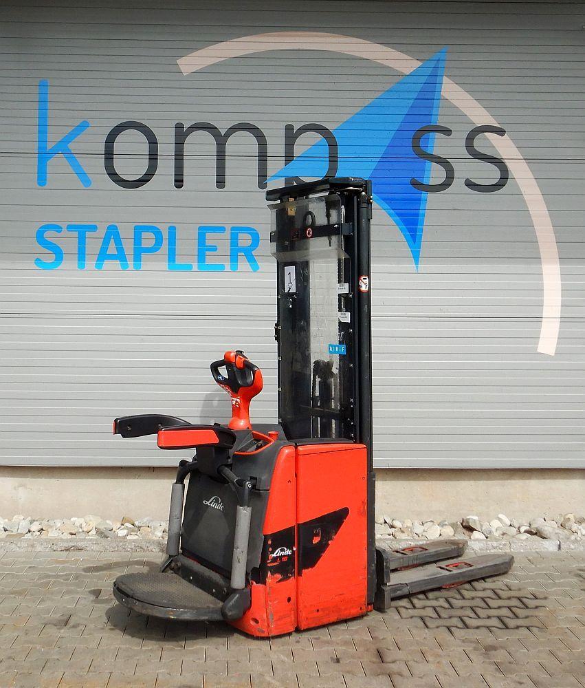 Linde L 16 API/1173 High Lift stacker www.kompass-stapler.de