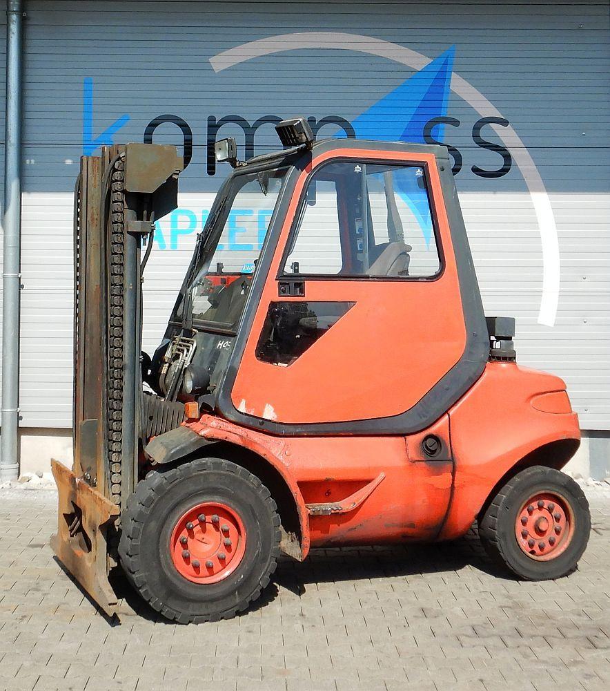 Linde H 45 D/352-03 Diesel Forklift www.kompass-stapler.de
