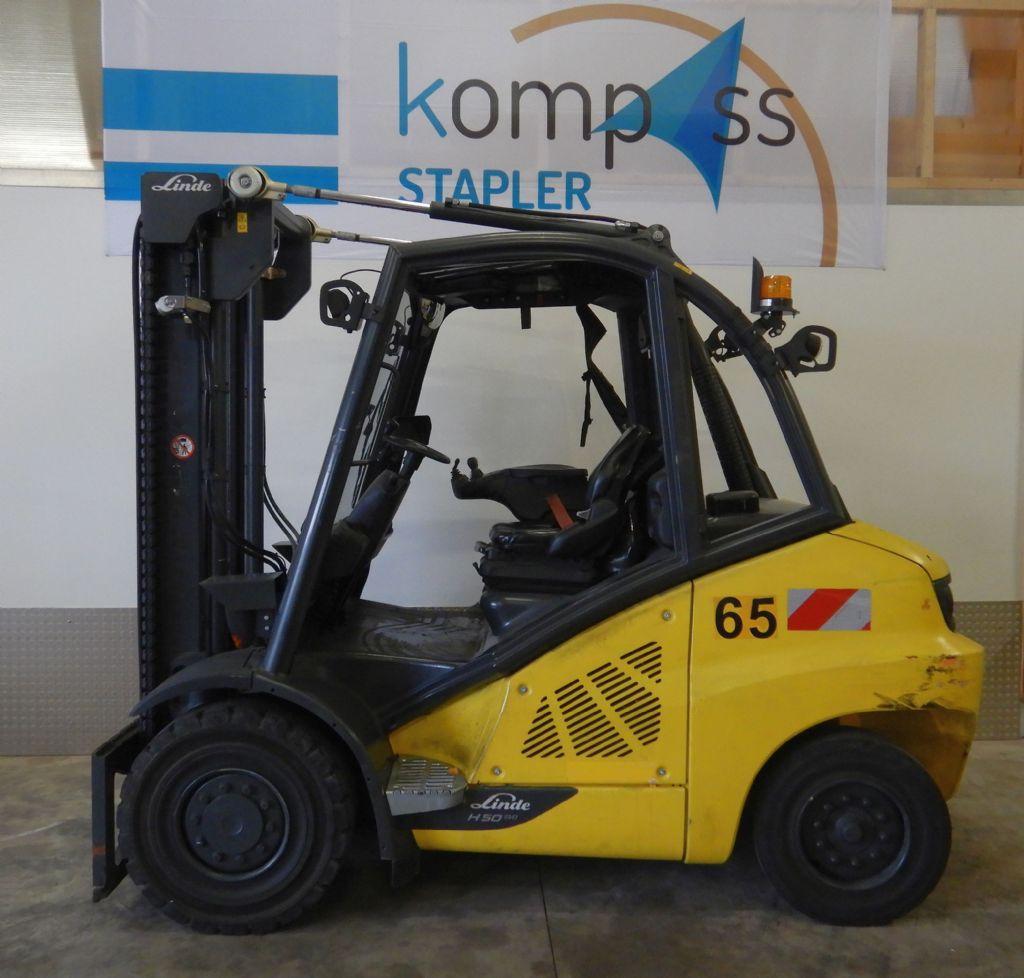 Linde H 50 D/600/394 Dieselstapler www.kompass-stapler.de