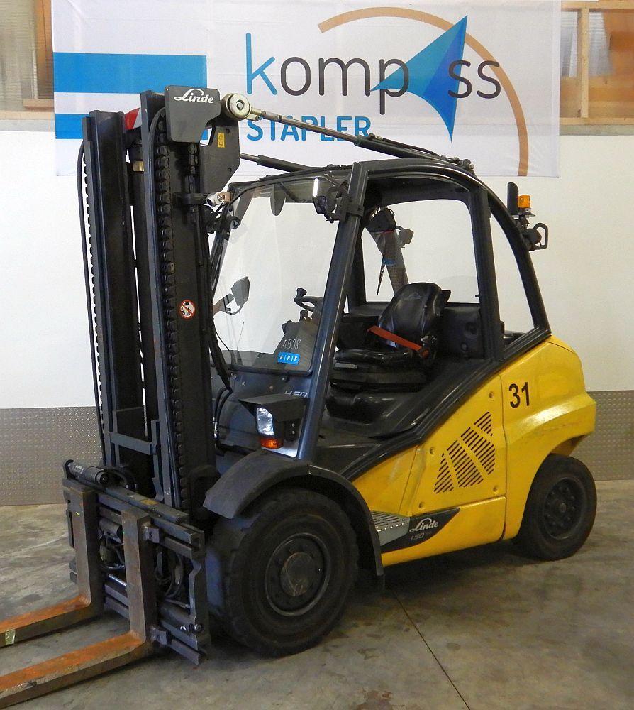 Linde H 50 D/600/394 Diesel Forklift www.kompass-stapler.de