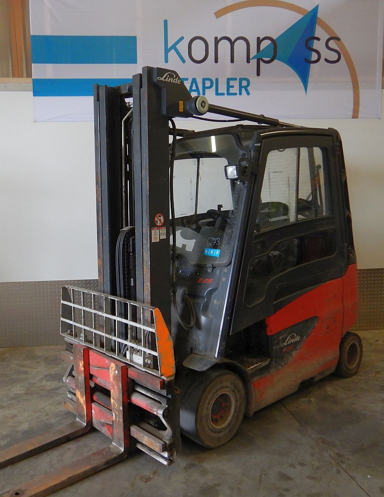 Linde E 25/600HL/387 Electric 4-wheel forklift www.kompass-stapler.de