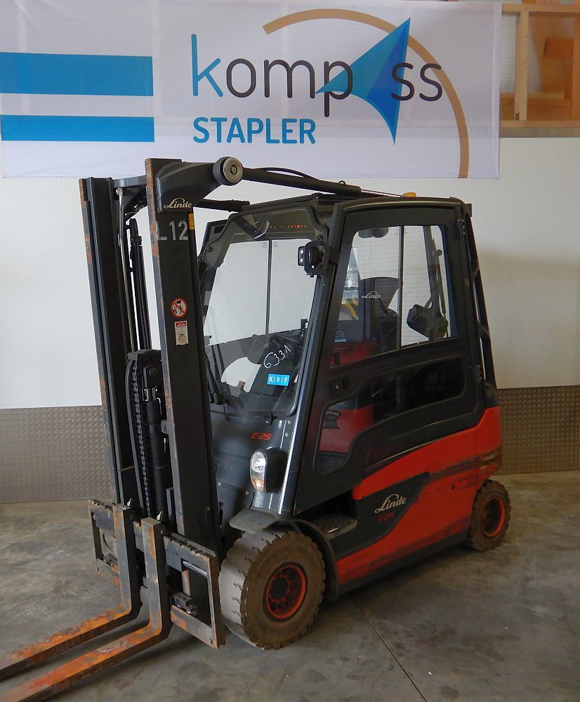 Linde E 25 L/387 Electric 4-wheel forklift www.kompass-stapler.de