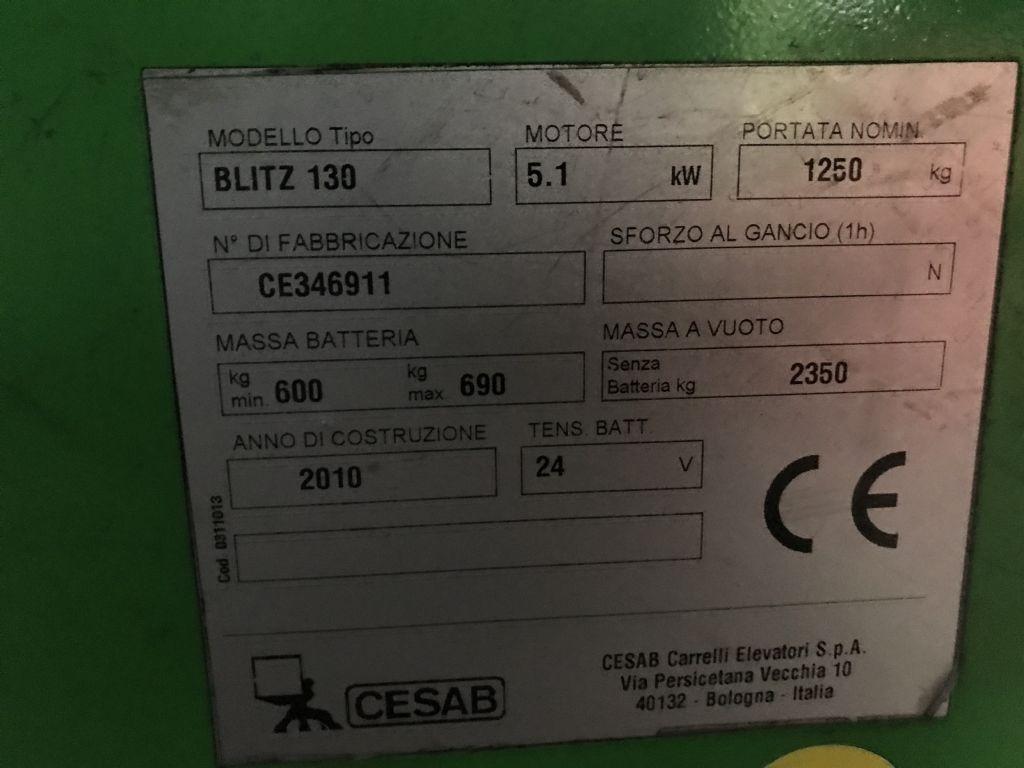 Cesab-Blitz 130-Elektro 3 Rad-Stapler-www.koop-gabelstapler.de