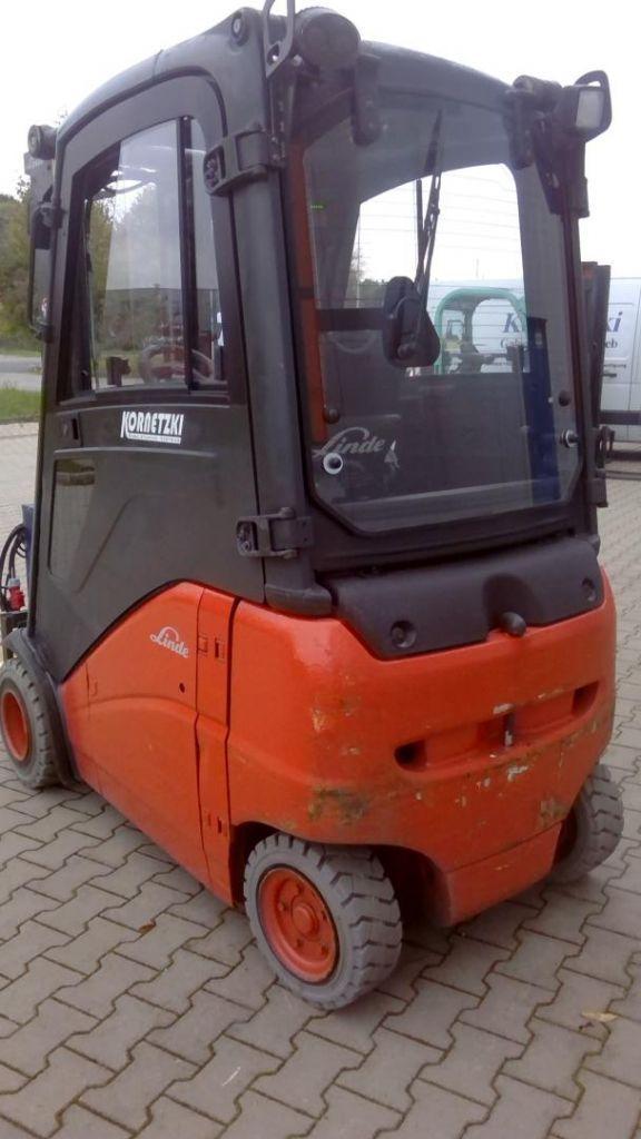 Linde E20PH-386-01 Elektro 4 Rad-Stapler www.kornetzki-gabelstapler.de