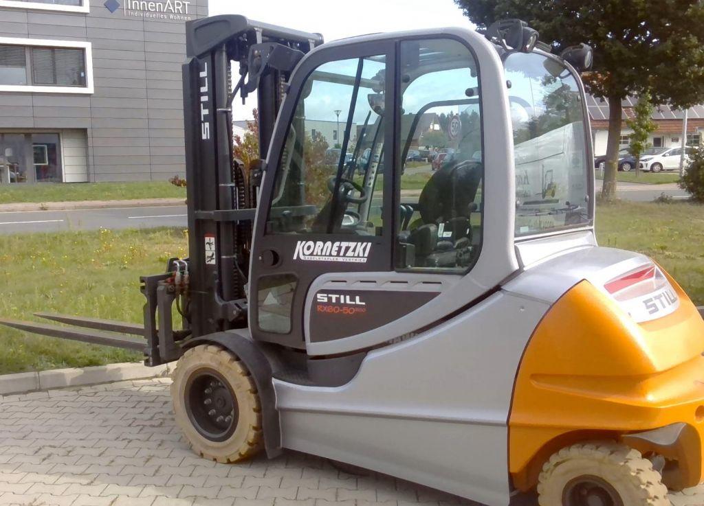 Still RX60-50 / 600 Elektro 4 Rad-Stapler www.kornetzki-gabelstapler.de