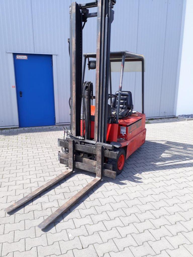 Linde E16S Elektro 3 Rad-Stapler www.kornetzki-gabelstapler.de