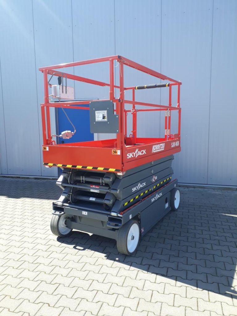 Skyjack SJIII 4626 Scherenarbeitsbühne www.kornetzki-gabelstapler.de