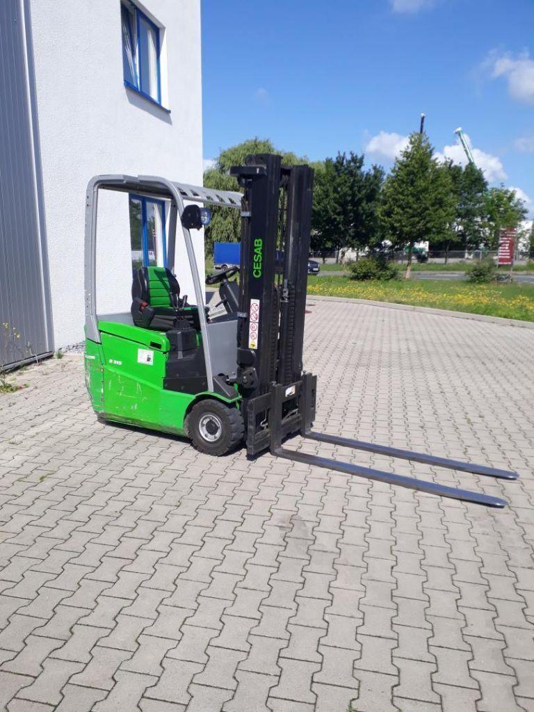 Cesab B315 Elektro 3 Rad-Stapler www.kornetzki-gabelstapler.de