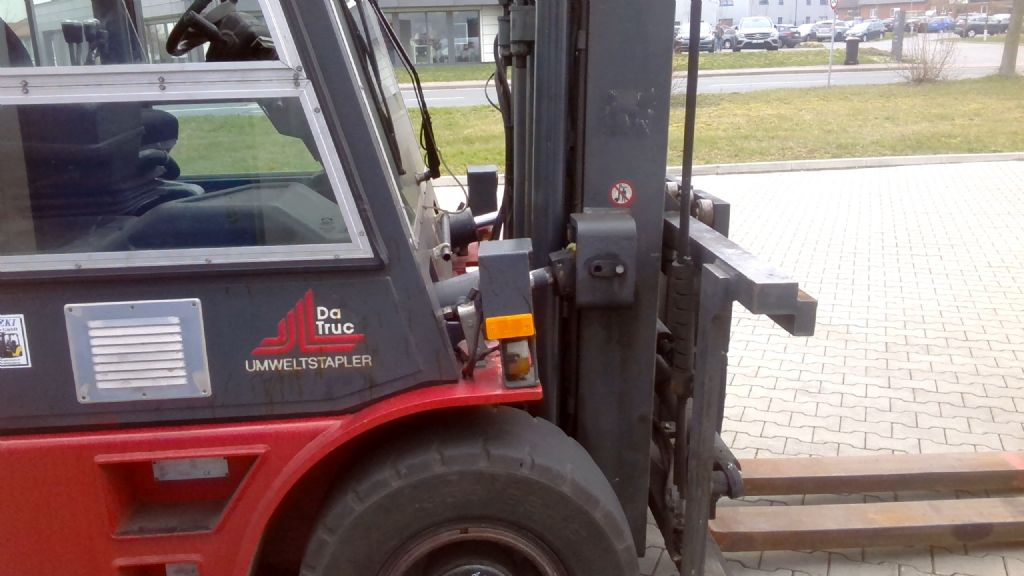 Dan Truck 9880DG Treibgasstapler www.kornetzki-gabelstapler.de