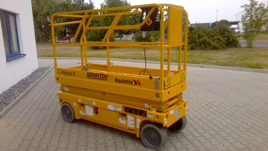 Haulotte Compact 8 Scherenarbeitsbühne www.kornetzki-gabelstapler.de