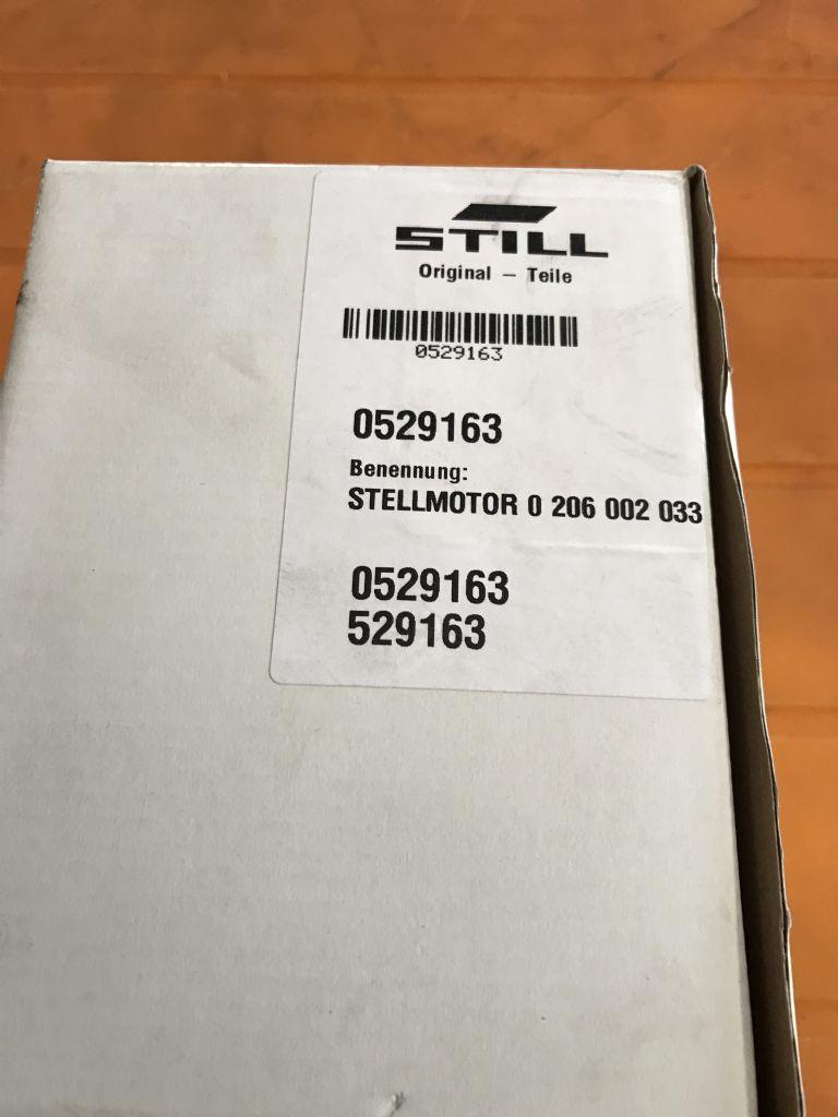 Still-Stellmotor 3M3 0527099  0529163 Bosch 0206002024 + 0206002033-Elektrische Steuerungen und Komponenten-www.kriegel-gmbh.de