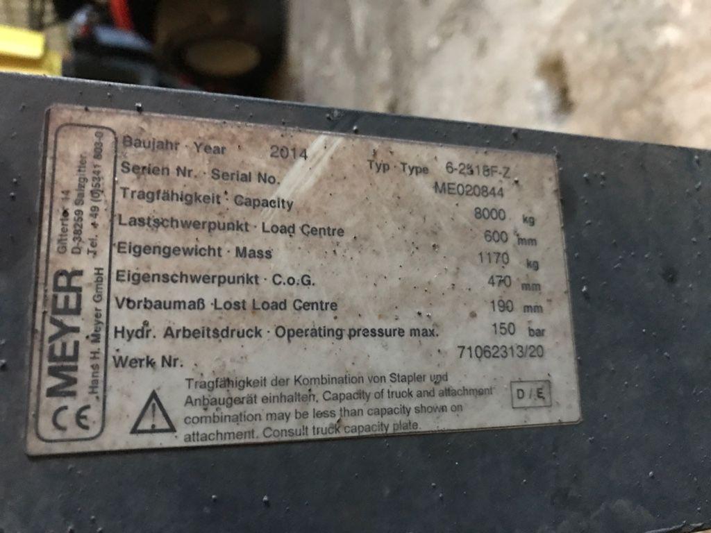 Meyer-FEM 4A 8000kg ZVG 6-2518F-Z (defekt)-Zinkenverstellgerät-www.kriegel-gmbh.de