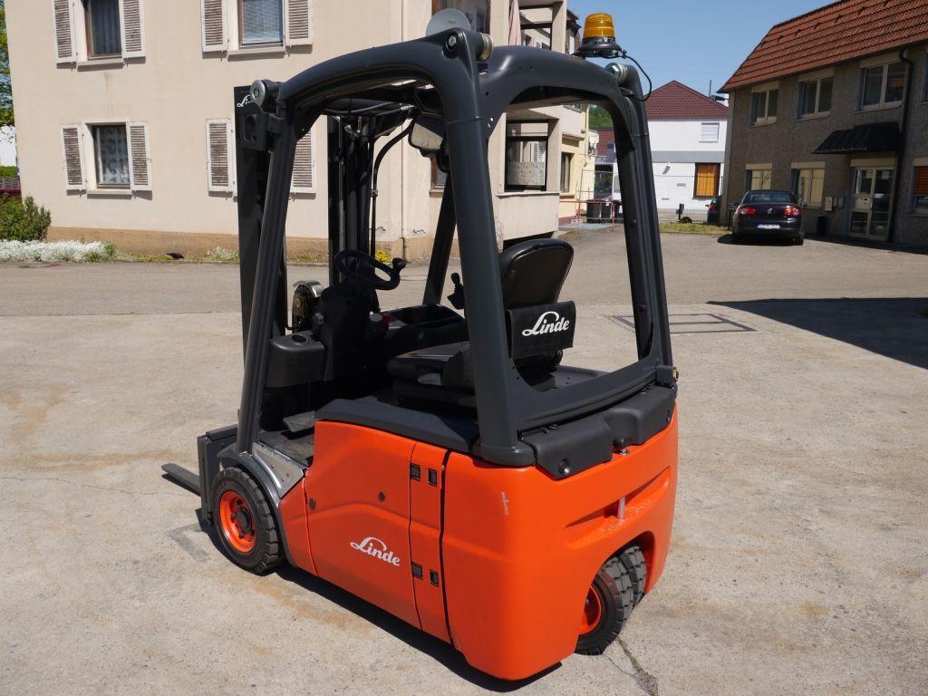 Linde-E 14-Elektro 3 Rad-Stapler-http://www.k-trucks.de