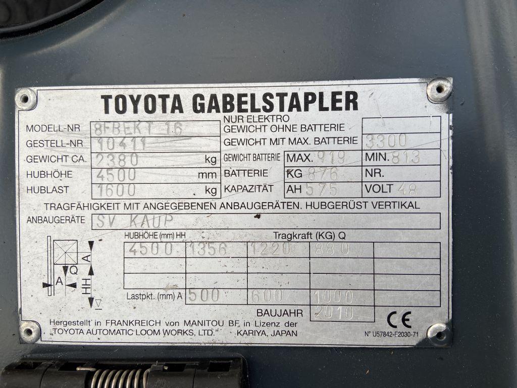 Toyota-8FBEKT 16-Elektro 3 Rad-Stapler-www.watzinger-und-sohn.de