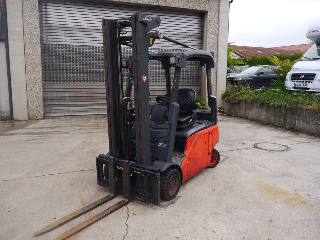 Linde-E 16 P-Elektro 4 Rad-Stapler-http://www.k-trucks.de