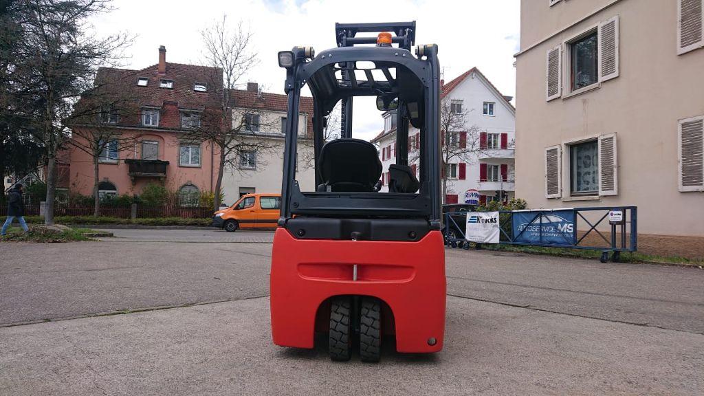Linde E 16 L EVO Elektro 3 Rad-Stapler www.watzinger-gabelstapler.de