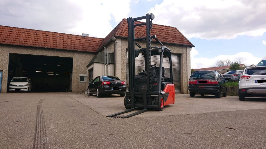 Linde-E 16 L EVO-Elektro 3 Rad-Stapler-http://www.k-trucks.de