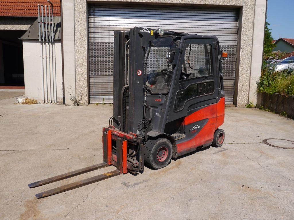 Linde-E 25 H / 600-Elektro 4 Rad-Stapler-http://www.k-trucks.de