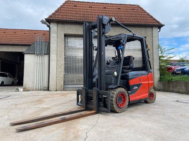 Linde-E 40 H-01 / 600-Elektro 4 Rad-Stapler-http://www.k-trucks.de