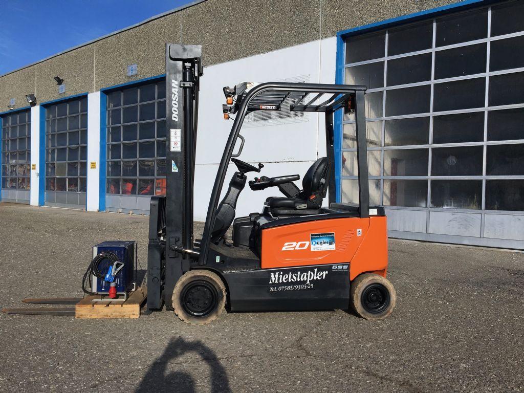 Doosan-B20X-7-Elektro 4 Rad-Stapler-www.kugler.net