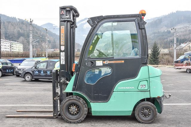 Mitsubishi FD15N Dieselstapler www.staplerlanger.at