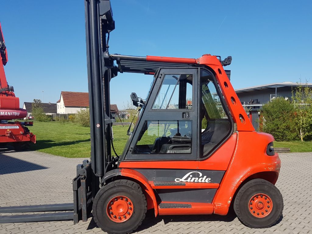 Linde H70D-03 Dieselstapler www.staplerlanger.at