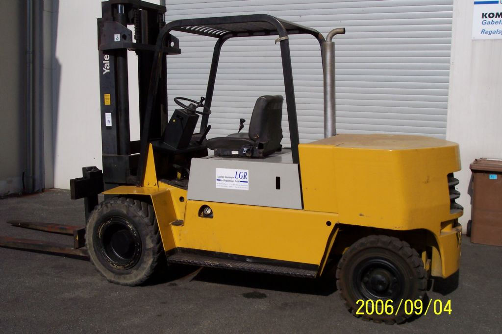 Yale  6DP-110 EE Dieselstapler www.lgr-lagertechnik.de