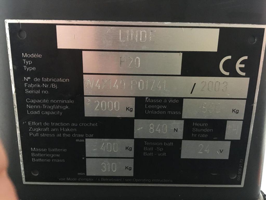 Linde-P20-Schlepper www.lifthandling.com