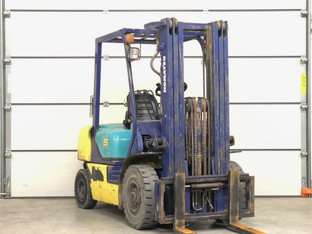 Komatsu FD25T-12 Dieselstapler www.contilift.de