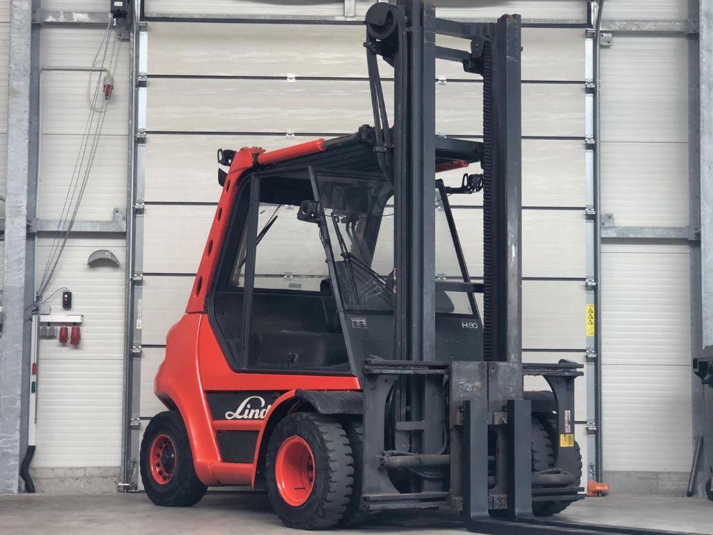 Linde H80D-03 Dieselstapler www.contilift.de