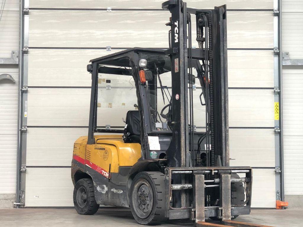 TCM FD35T3S Diesel Forklift www.contilift.de