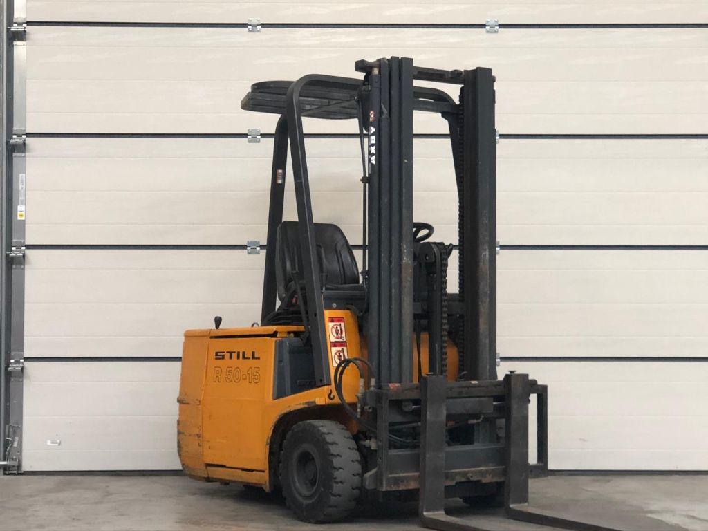 Still-R50-15-Elektro 3 Rad-Stapler www.lifthandling.com
