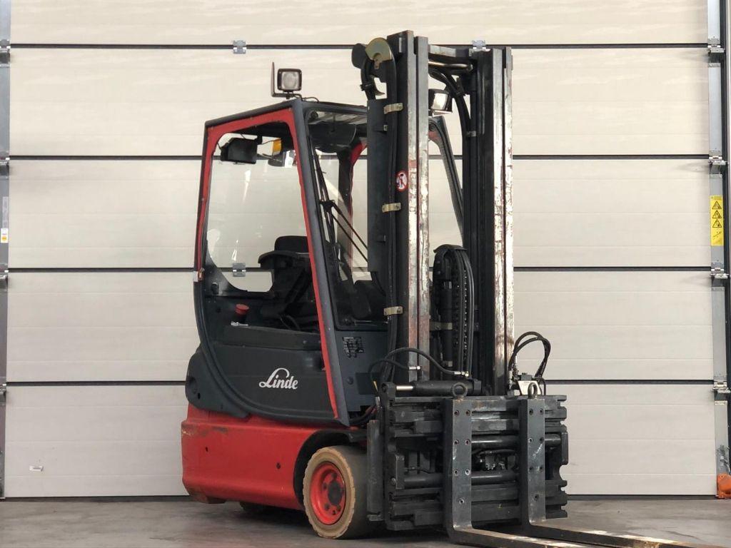 Linde-E14-02-Elektro 3 Rad-Stapler www.lifthandling.com