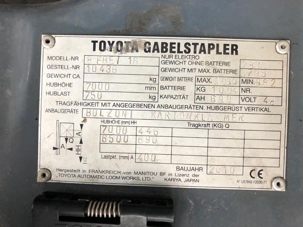 Toyota-8FBET16-Elektro 3 Rad-Stapler www.lifthandling.com
