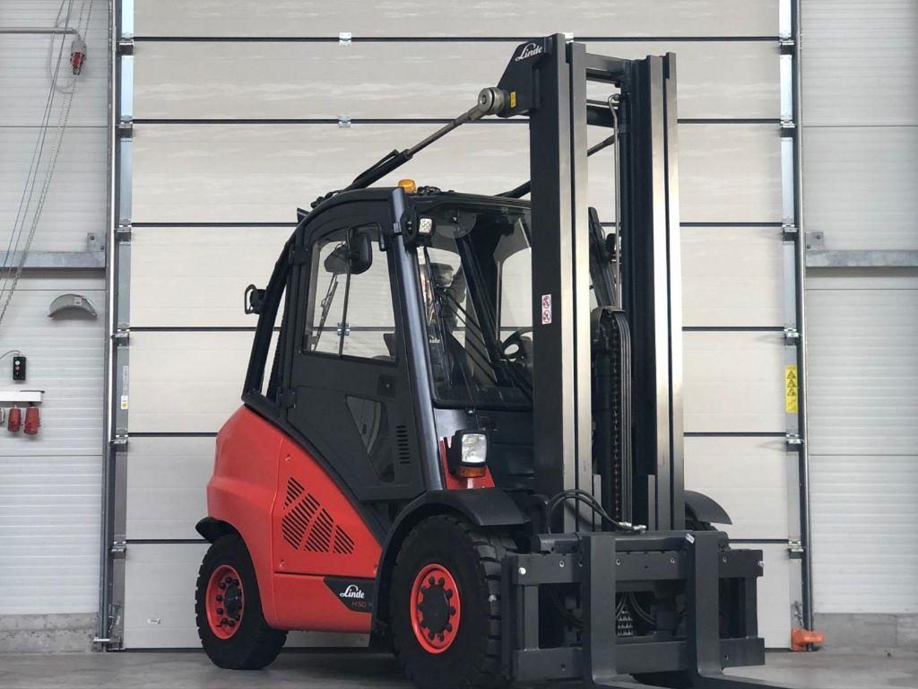 Linde H50D-02 Diesel Forklift www.contilift.de