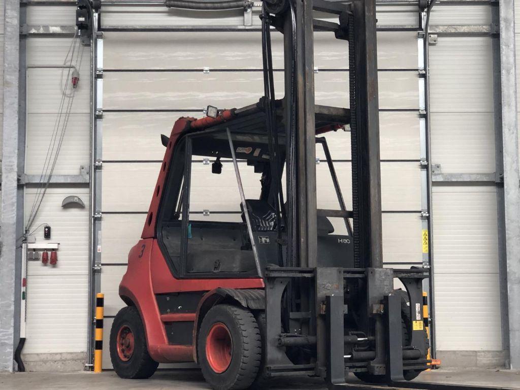 Linde H80D Diesel Forklift www.contilift.de