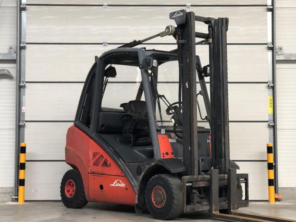 Linde-H25T -Treibgasstapler www.lifthandling.com
