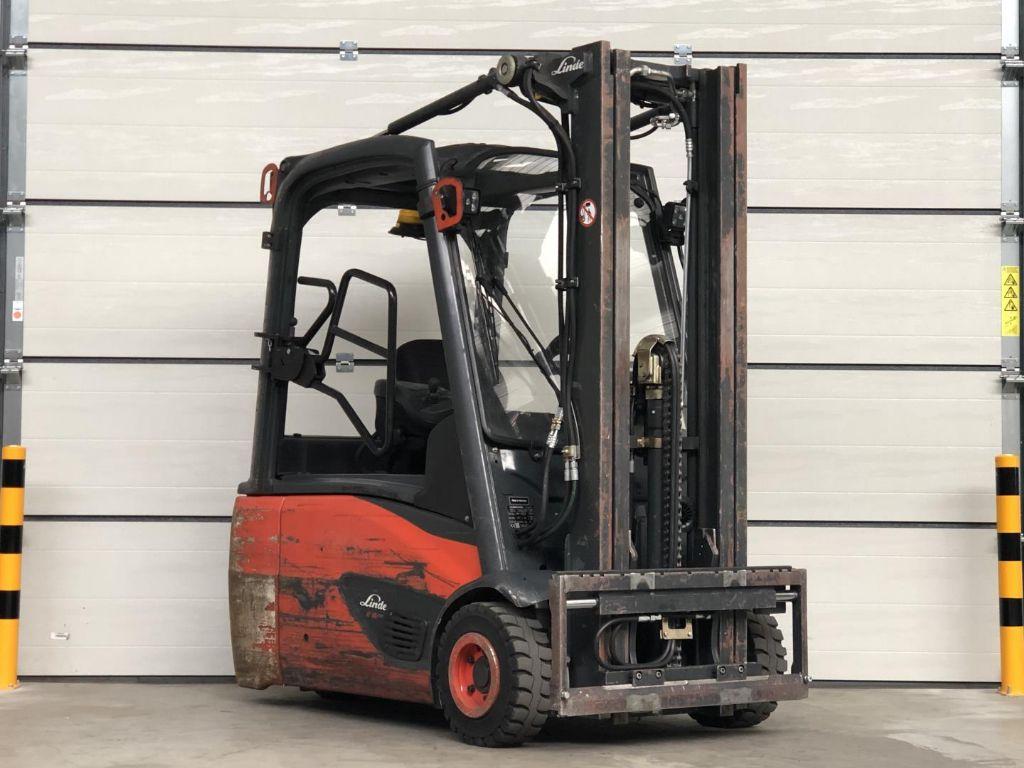 Linde-E16L-02-Elektro 3 Rad-Stapler www.lifthandling.com