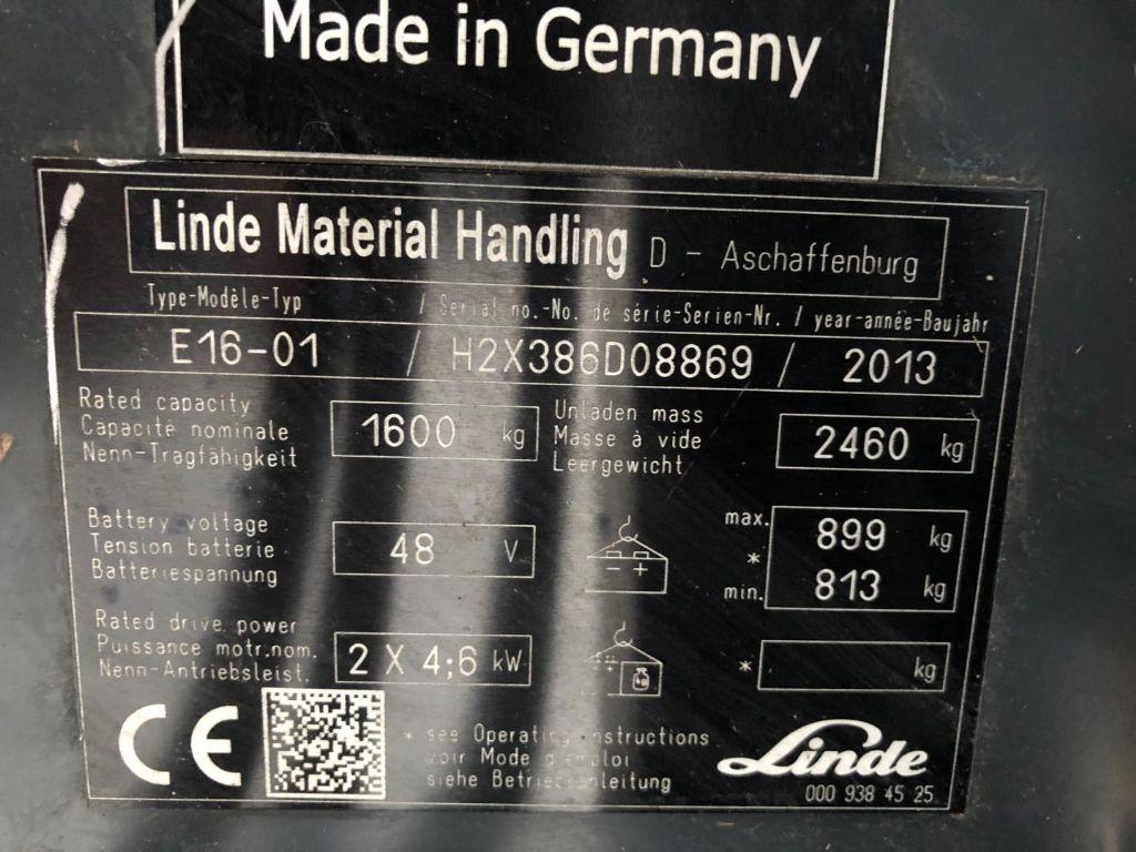 Linde-E16-01-Elektro 3 Rad-Stapler www.lifthandling.com