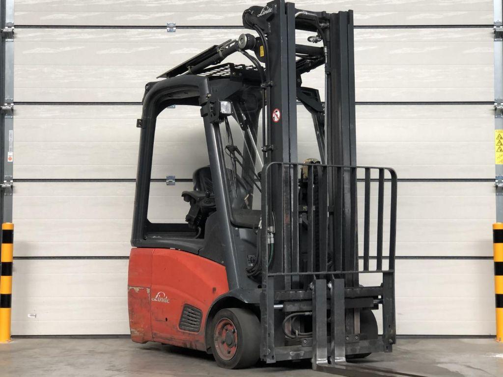 Linde-E15-Elektro 3 Rad-Stapler www.lifthandling.com