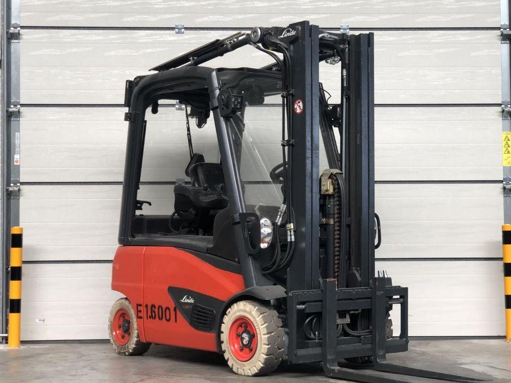 Linde-E16P-Elektro 4 Rad-Stapler www.lifthandling.com