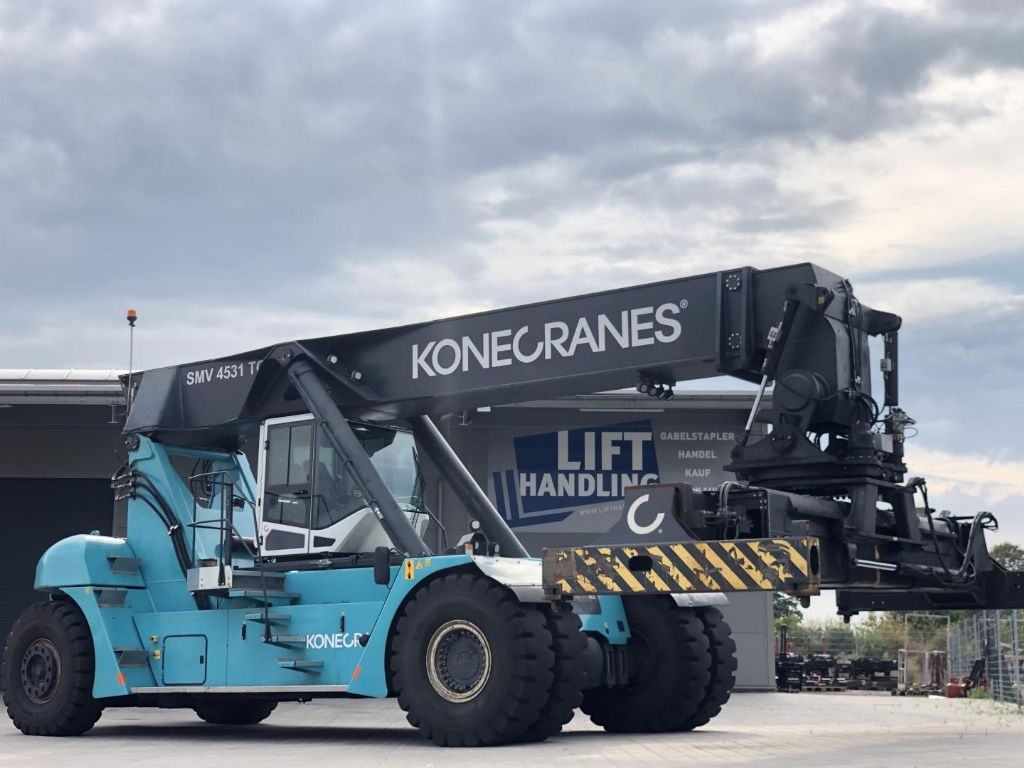 Konecranes SMV 4531 TC5 Vollcontainer Reachstacker www.contilift.de