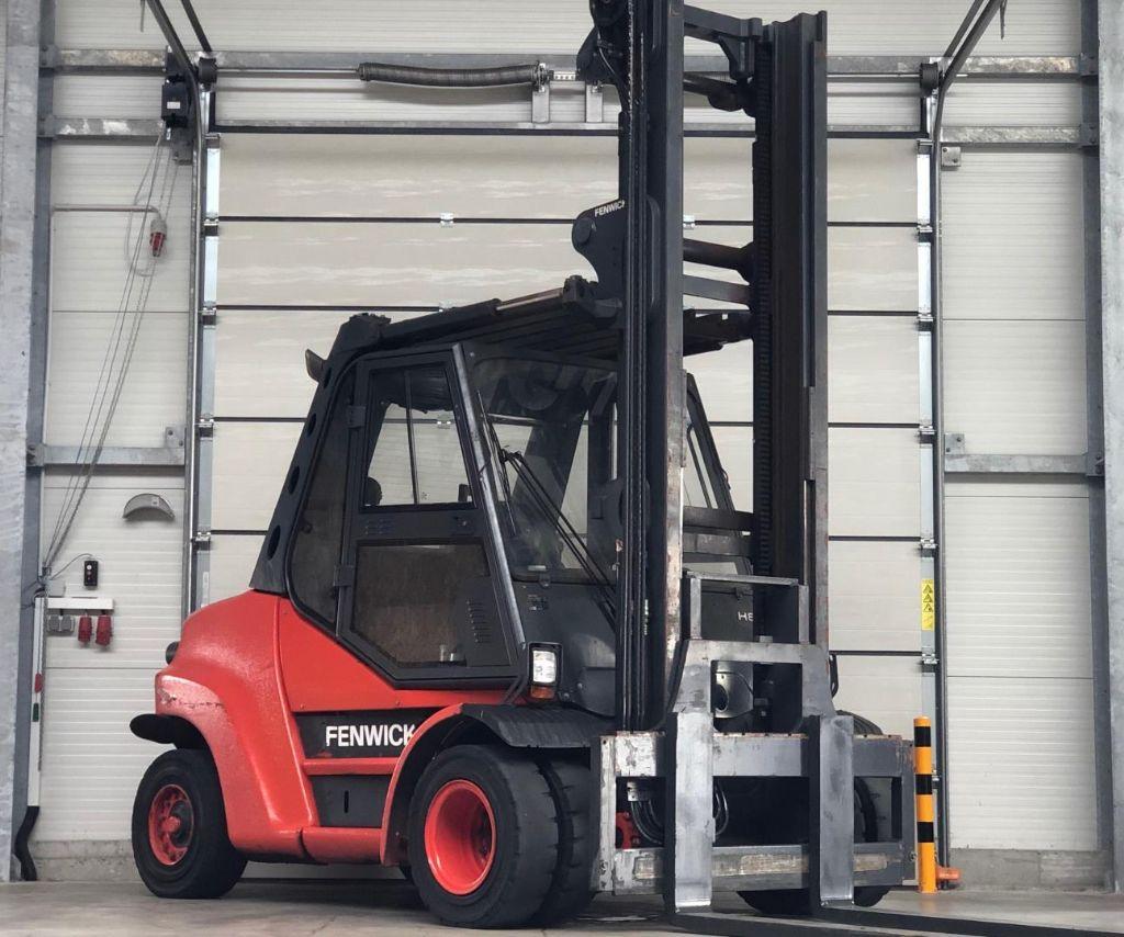 Linde H80D-02/900 Dieselstapler www.contilift.de