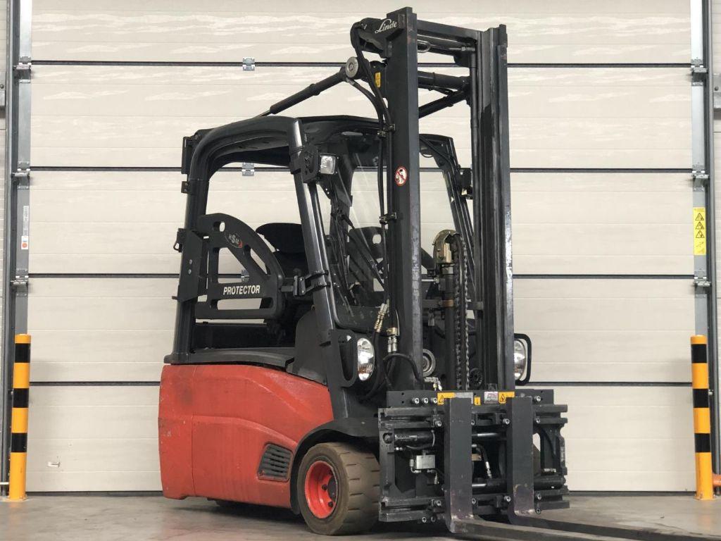 Linde-E18L-Elektro 3 Rad-Stapler www.lifthandling.com