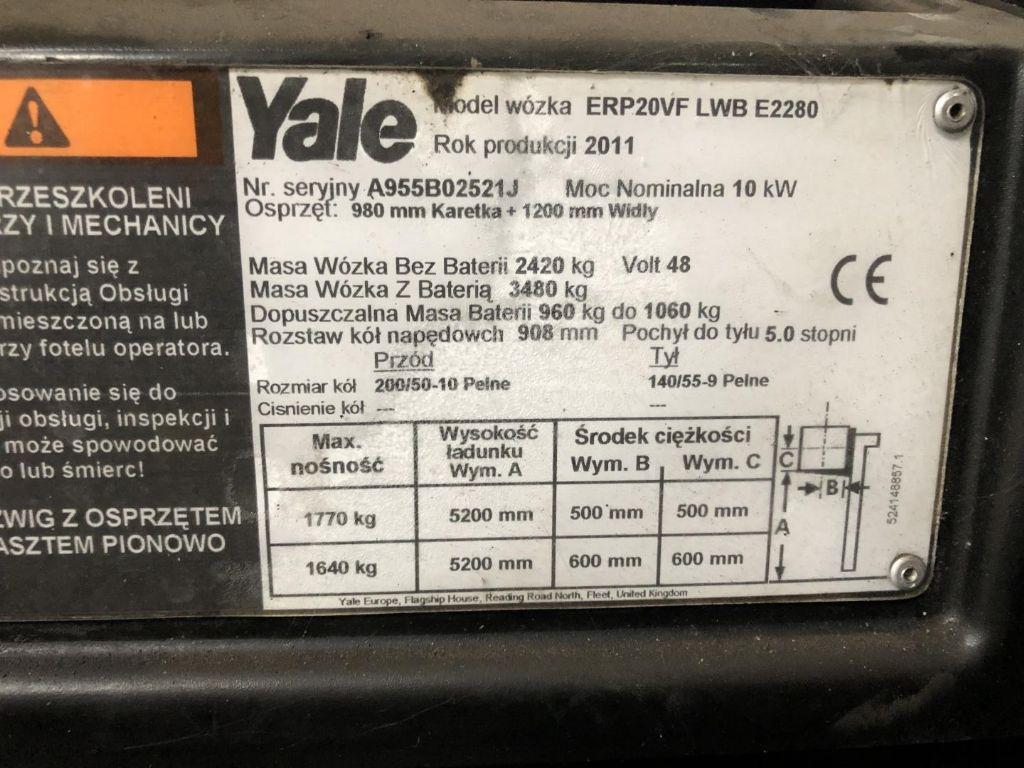 Yale-ERP20VF-Elektro 4 Rad-Stapler www.lifthandling.com