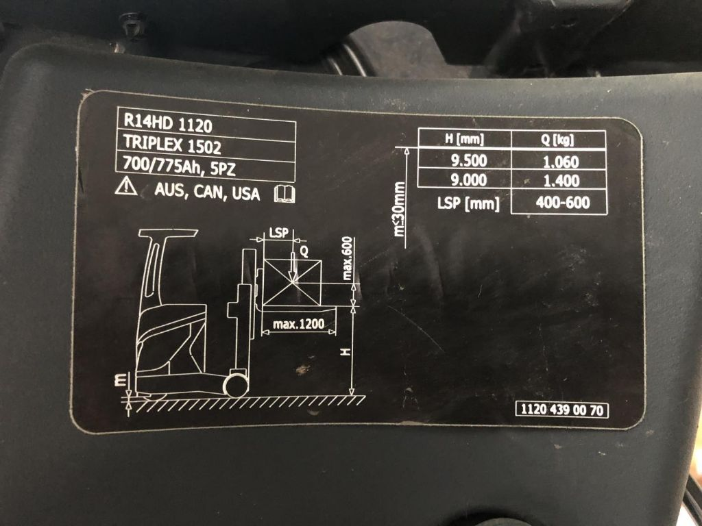 Linde-R14HD-Schubmaststapler www.lifthandling.com